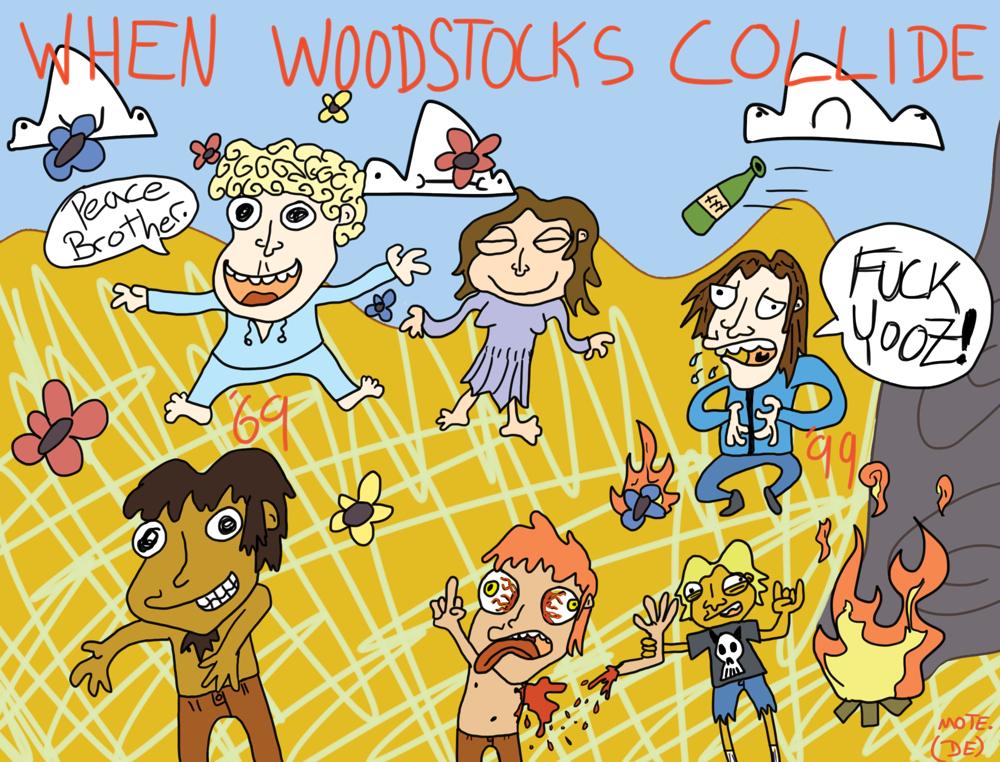 When Woodstocks Collide
